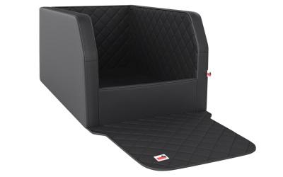padsforall Autohundebett Travelmat® duo Plus (Standardmaß), jet/black