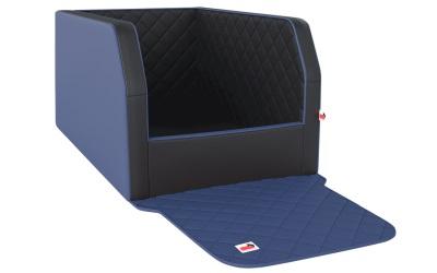 padsforall Autohundebett Travelmat® duo Plus (Standardmaß), navy/black