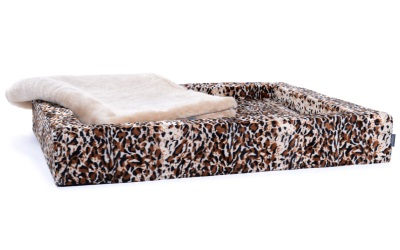 padsforall Hundebett Harko Edition Tierfellmuster, leoparde