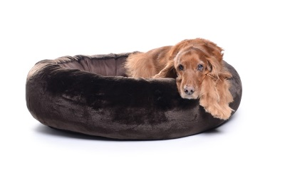 padsforall Hundebett K-Nax Fake Fur, braun