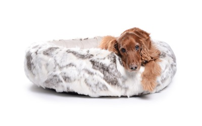 padsforall Hundebett K-Nax Fake Fur, brauncreme