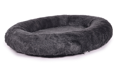 padsforall Hundebett Nubo&Vello Fake Fur, anthrazit