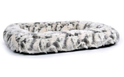 padsforall Hundebett Spring Fake Fur, braun/creme