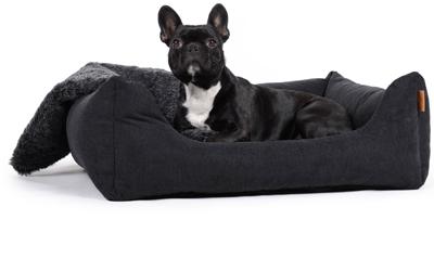 padsforall Hundebett Worldcollection Comfort, schwarz