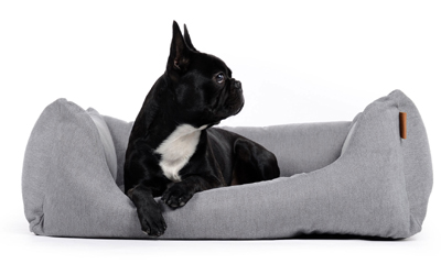 padsforall Hundebett Worldcollection Comfort, silber