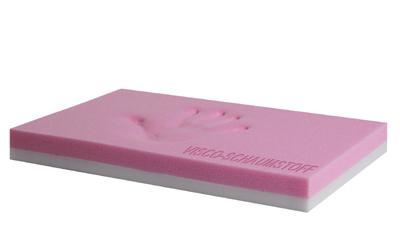Wahlweise mit Standard- oder Visco-Schaumstoffmatte