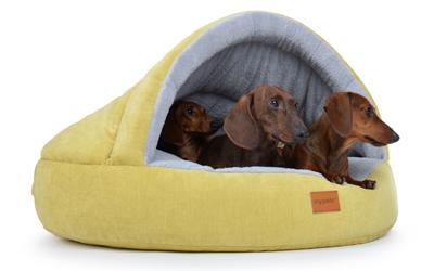 padsforall Hundehöhle Luola TrendLine, kiwigrau