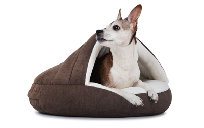 padsforall Hundehöhle Shell Comfort, braun