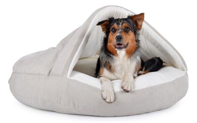padsforall Hundehöhle Shell Comfort, creme