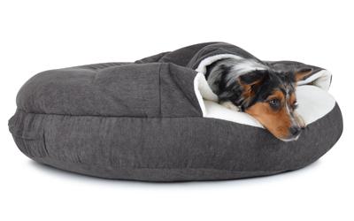 padsforall Hundehöhle Shell Comfort, grau