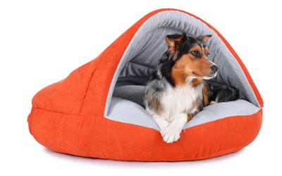 padsforall Hundehöhle Shell Comfort, orange