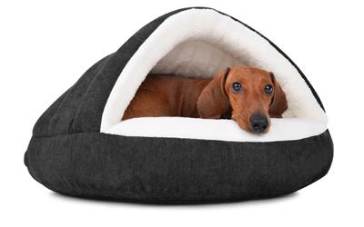 padsforall Hundehöhle Shell Comfort, schwarz