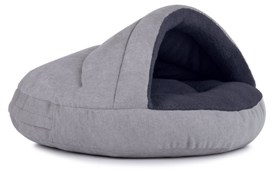 padsforall Hundehöhle Shell Comfort, silberanthrazit