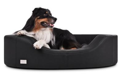 padsforall Kunstleder Hundesofa Prado, schwarz