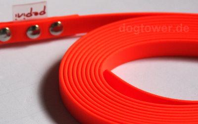 Pepini Schleppleine in orange, erhältlich mit und ohne Handschlaufe
