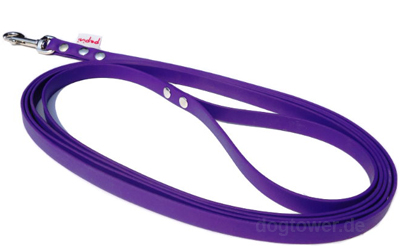 Pepini Biothane Schleppleine, violett