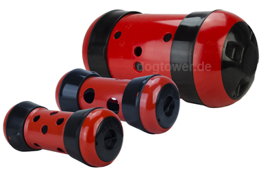 Pipolino, rot/schwarz