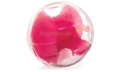 Planet Dog Mazee Orbee-Tuff Futterball in himbeer