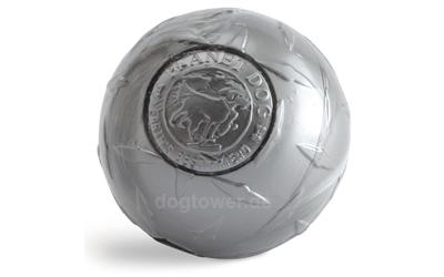 Planet Dog Orbee-Tuff Industrial Diamond Plate Ball in steel / silber