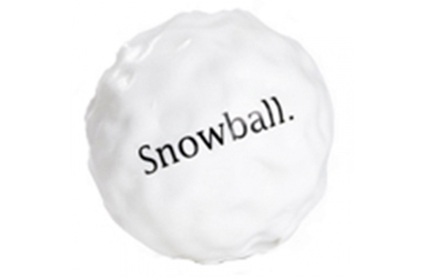 Planet Dog Orbee-Tuff Snowball, weiss