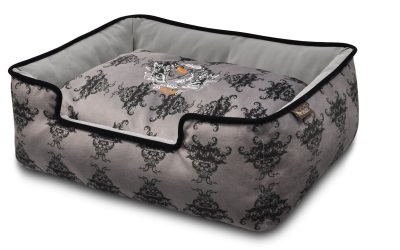 P.L.A.Y. Pet Lifestyle and You Lounge Bed Royal Crest Ivory Black/Cool Gray
