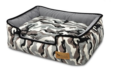 P.L.A.Y. Pet Lifestyle and You Lounge Bett Camouflage Weiß
