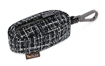 P.L.A.Y. PoopBagDispenser Tweed Black/Gray