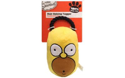 Plüschspielzeug The Simpsons Homer Hair Raising Tugger