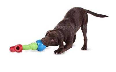 Intelligentes Hundespielzeug zum Zusammenstecken
