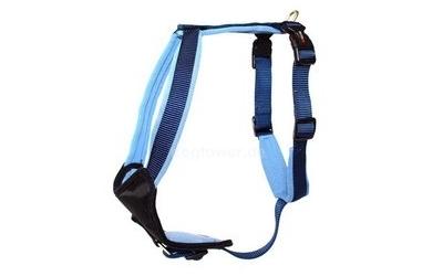 Professional Comfort Hundegeschirr, marine/hellblau