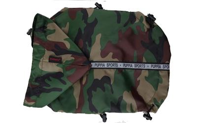 Puppia Base Jumper Regenmantel, camouflage