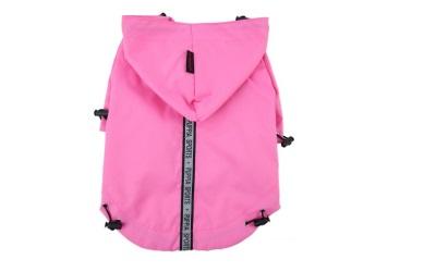 Puppia Base Jumper Regenmantel, rosa