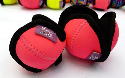 Puppingtons Pods mit Schlaufe interaktives Hundespielzeug, pink