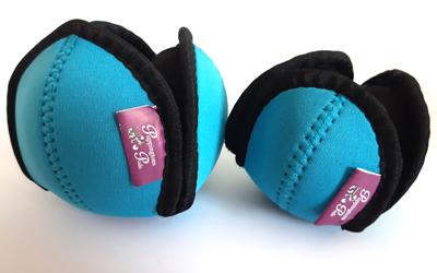 Puppingtons Pods mit Schlaufe interaktives Hundespielzeug, türkis