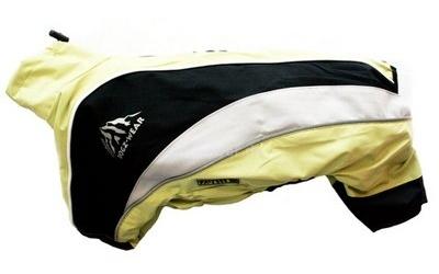 Wolters Regenanzug Dogz Wear, lime/schwarz