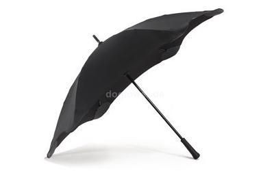 Regenschirm bunt Classic, schwarz
