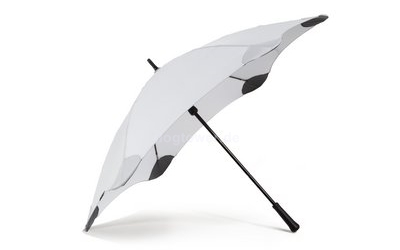 Regenschirm bunt Classic, silbergrau