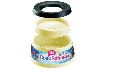 Road Refresher Reisenapf, gelb