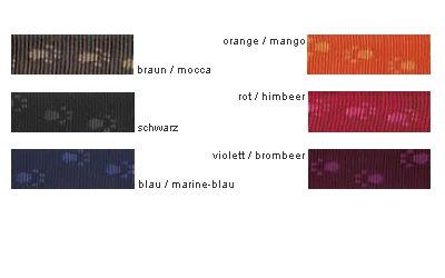 Farbauswahl Hundehalsband Rogz