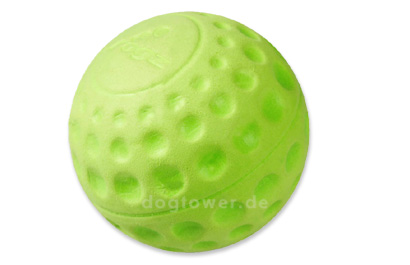 Rogz Asteroidz Hundeball, grün