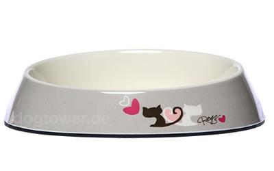 Rogz Fishcake Melaminnapf Heart Tails