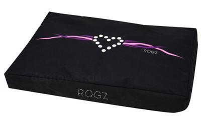 ROGZ Flat Podz Hundematratze Purple Chrome