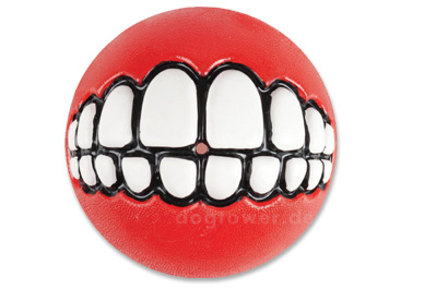 Rogz Ginz Ball, rot