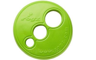 Rogz Hundefrisbee in lime/grün