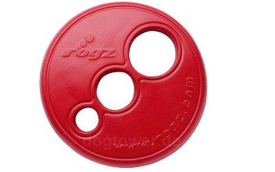 Rogz Hundefrisbee in rot