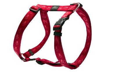 Rogz Hundegeschirr Alpinist rot