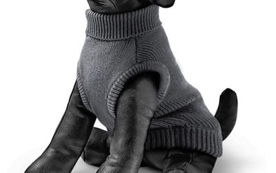 Rogz Hundepullover Wolfskin, dunkelgrau