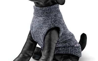 Rogz Hundepullover Wolfskin, grau melange