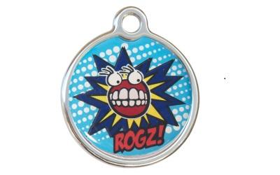 Rogz Instant ID Tagz Hundemarke, Comic