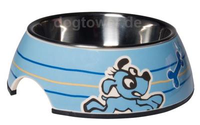 Rogz Lapz Bowlz Hundenapf Pupz blue